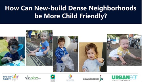 How Can New-build Dense Neighborhoods be More Child Friendly?