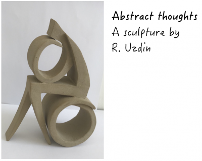 Abstract thoughts - A sculpture by R. Uzdin
