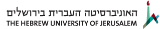 The Hebrew University logo