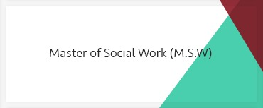 Master of Social Work (M.S.W.)