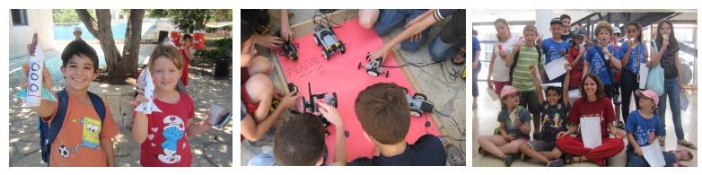 ילדים ונוער בפעילויות נוער שוחר מדע