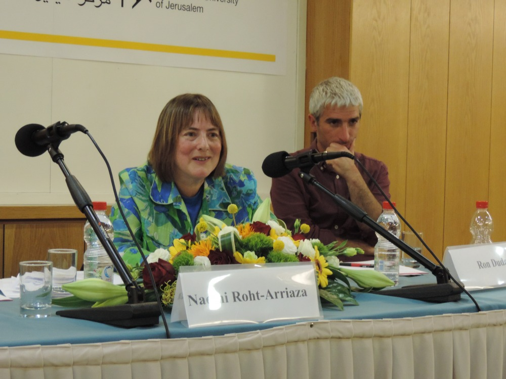 The Minerva Center for Human Rights and the Transitional Justice Program invited the public to a lecture by Prof. Naomi Roht-Arriaza, Distinguished Professor of Law, University of California, Hastings College of the Law.